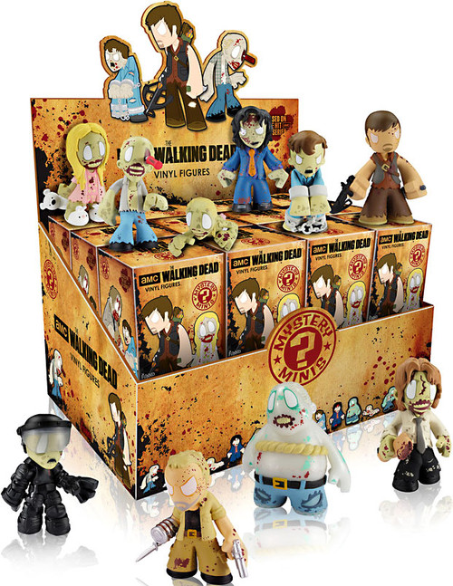 Funko Walking Dead Series 1 Mystery Minis 2.5-Inch Mystery Box [24 Packs]