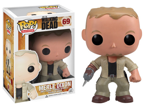 Walking Dead Funko POP! Television Merle Dixon Vinyl Figure #69