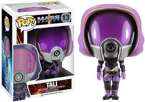 Mass Effect Funko POP! Games Tali'Zorah nar Rayya Vinyl Figure #13