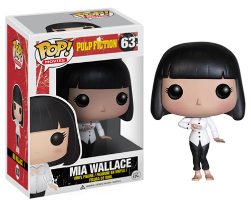 Pulp Fiction Funko POP! Movies Mia Wallace Vinyl Figure #63