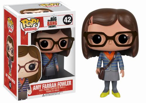 The Big Bang Theory Funko POP! Television Amy Farrah Fowler Vinyl Figure #42