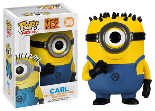 Despicable Me 2 Funko POP! Movies Carl Vinyl Figure #35