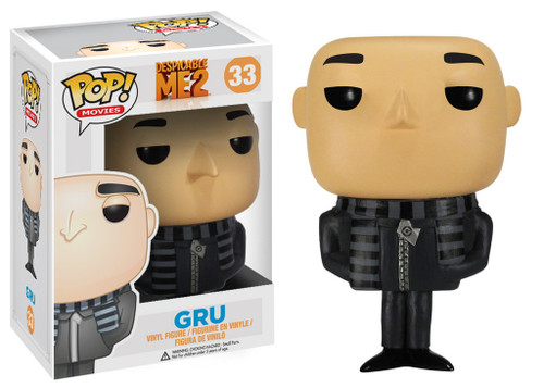 Despicable Me 2 Funko POP! Movies Gru Vinyl Figure #33