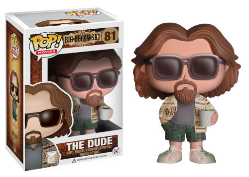 The Big Lebowski Funko POP! Movies The Dude Vinyl Figure #81 (Pre-Order ships August)