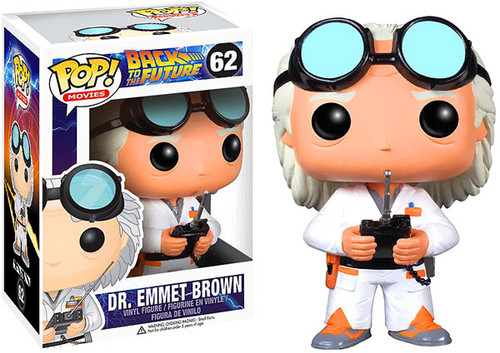 Back to the Future Funko POP! Movies Dr. Emmet Brown Vinyl Figure #62