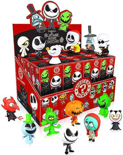 Funko The Nightmare Before Christmas Nightmare Before Christmas Series 1 Mystery Minis 2.5-Inch Mystery Box [24 Packs]
