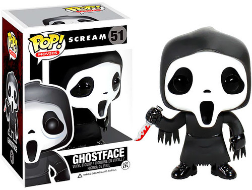 Scream Funko POP! Movies Ghostface Vinyl Figure #51