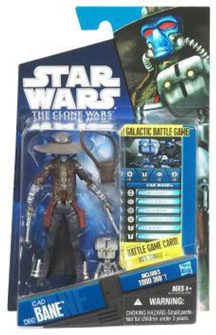 Star Wars The Clone Wars Clone Wars 2011 Cad Bane with TODO-360 Droid Action Figure CW42 [New Sculpt!]