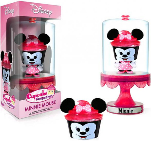 Funko Disney Cupcake Keepsakes Series 1 Minnie Mouse Mini Figure
