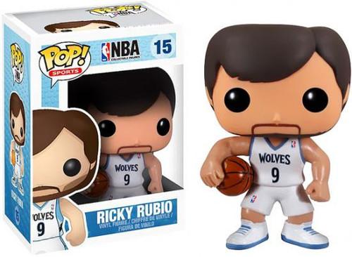 NBA Funko POP! Sports Ricky Rubio Vinyl Figure #15