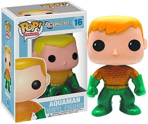 DC Universe Funko POP! Heroes Aquaman Exclusive Vinyl Figure #16 [New 52 Version]