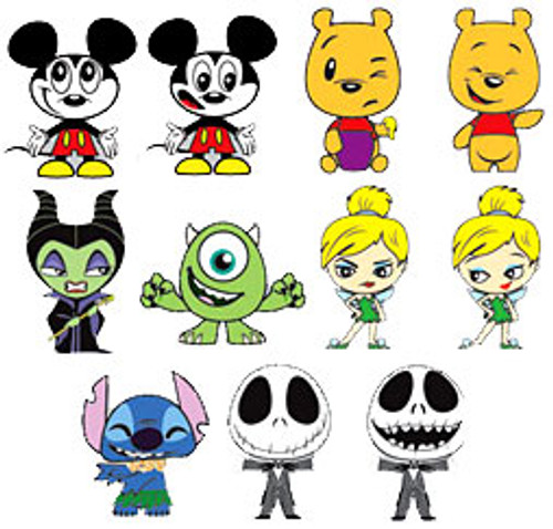 Funko Disney Series 1 Mystery Minis Set of 11 Minifigures [Loose]