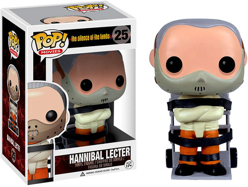The Silence of the Lambs Funko POP! Movies Hannibal Lecter Vinyl Figure #25