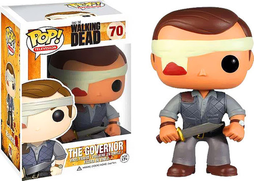 Walking Dead Funko POP! Television The Governor Exclusive Vinyl Figure #70 [Bandaged]