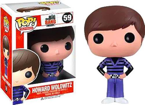 The Big Bang Theory Funko POP! Television Howard Wolowitz Vinyl Figure #59