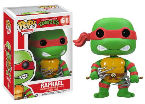 Teenage Mutant Ninja Turtles Funko POP! Television Raphael Vinyl Figure #61