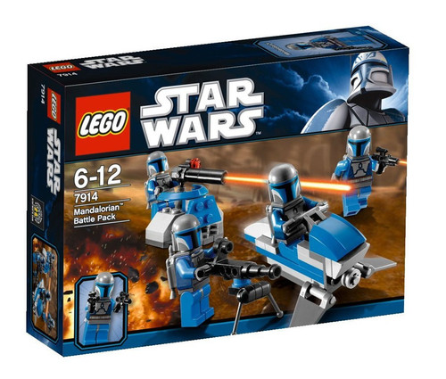 LEGO Star Wars The Clone Wars Mandalorian Battle Pack Set #7914