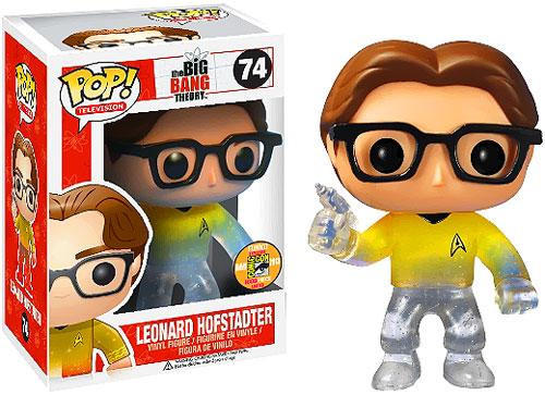 The Big Bang Theory Funko POP! Television Leonard Hofstadter Exclusive Vinyl Figure #74 [Exclusive ]