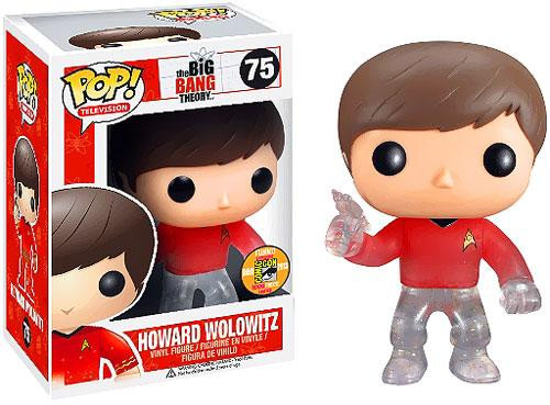 The Big Bang Theory Funko POP! Television Howard Wolowitz Exclusive Vinyl Figure #75 [Star Trek]