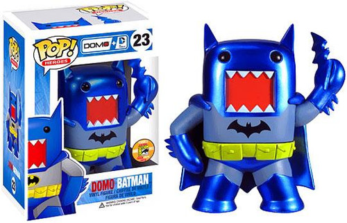 Funko POP! Heroes Domo Batman Exclusive Vinyl Figure #23 [Metallic]