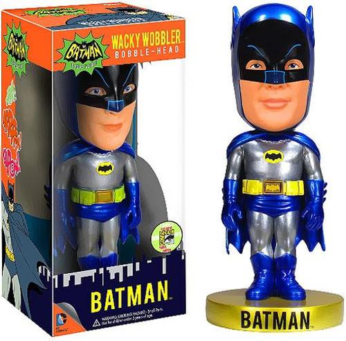 Funko 1966 TV Series Wacky Wobbler Batman Exclusive Bobble Head [Metallic]