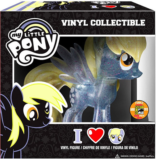 Funko My Little Pony Vinyl Collectibles Glam Derpy Hooves Exclusive Vinyl Figure [Crystalized Glitterized Sparkelized]