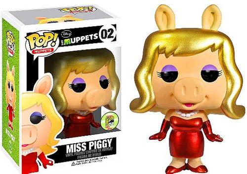 The Muppets Funko POP! Television Miss Piggy Exclusive Vinyl Figure #02 [Metallic]