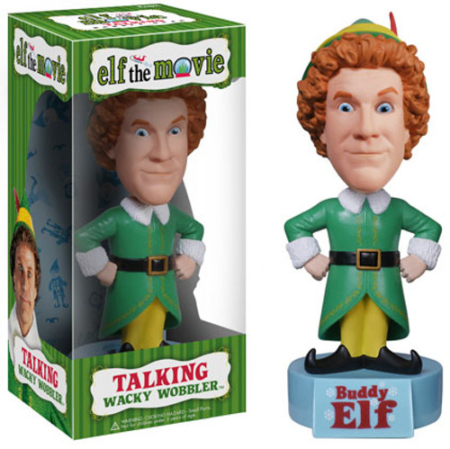 Funko Elf the Movie Wacky Wobbler Buddy Bobble Head