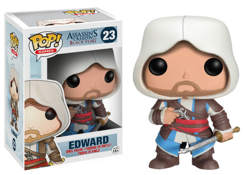 Assassin's Creed Funko POP! Games Edward Vinyl Figure #23