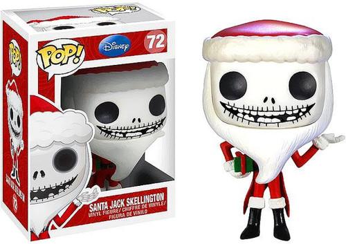The Nightmare Before Christmas Funko POP! Disney Santa Jack Skellington Vinyl Figure #72