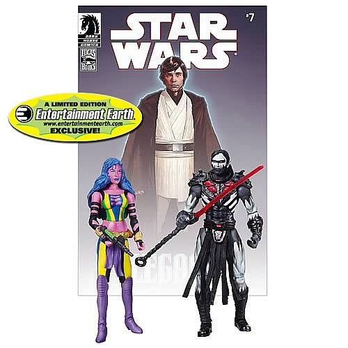 Star Wars Comic Packs 2010 Deliah Blue & Darth Nihl Exclusive Action Figure 2-Pack