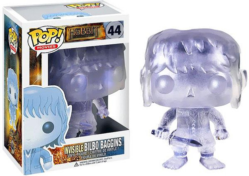 The Hobbit The Desolation of Smaug Funko POP! Movies Invisible Bilbo Baggins Vinyl Figure #44