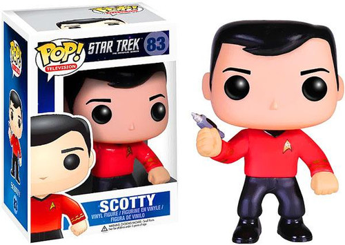 Star Trek The Original Series Funko POP! Television Scotty Vinyl Figure #83
