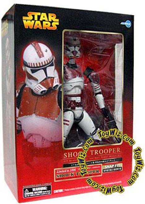 Star Wars ArtFX Snap Fit Red Shock Clone Trooper Exclusive 1/10 Vinyl Statue [Episode III]