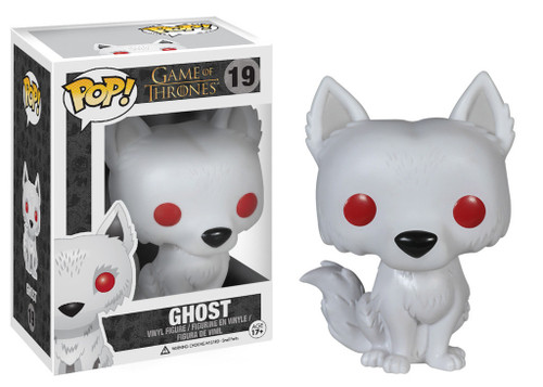 Funko POP! Game of Thrones Ghost Vinyl Figure #19 (Pre-Order ships August)