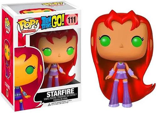 Teen Titans Go! Funko POP! Television Starfire Vinyl Figure #111