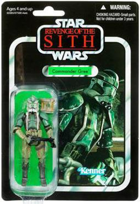 Star Wars Revenge of the Sith Vintage Collection 2011 Commander Gree Action Figure #43