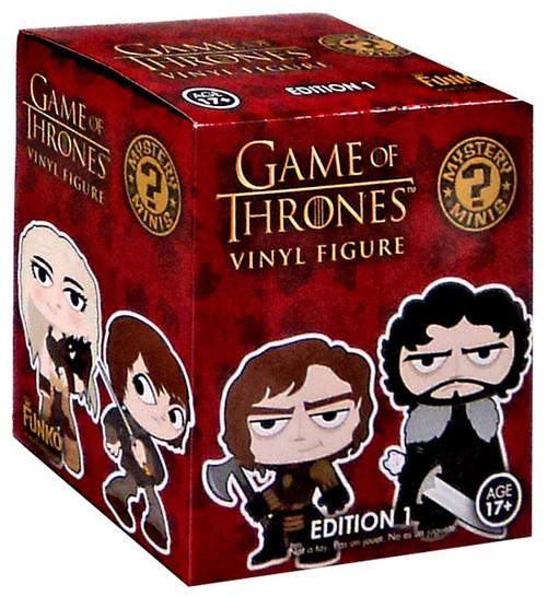 Funko Game of Thrones Series 1 Mystery Minis 2.5-Inch Mystery Pack