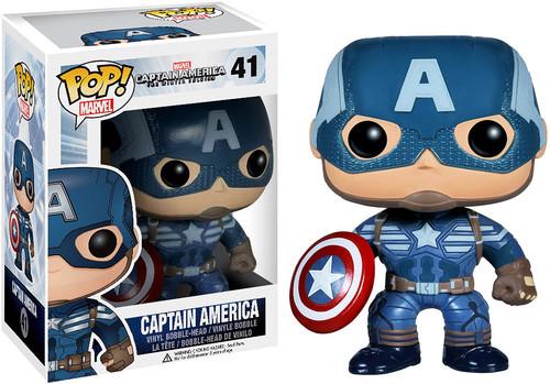 Captain America: The Winter Soldier Funko POP! Marvel Captain America Vinyl Bobble Head #41 [Winter Soldier]