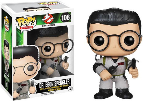 Ghostbusters Funko POP! Movies Dr. Egon Spangler Vinyl Figure #106