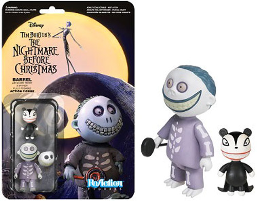 Funko The Nightmare Before Christmas ReAction Barrel with Scary Teddy Action Figure