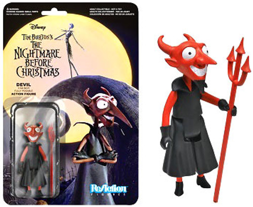Funko The Nightmare Before Christmas ReAction The Devil Action Figure
