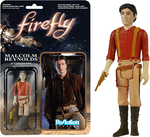 Funko Firefly ReAction Malcolm Reynolds Action Figure