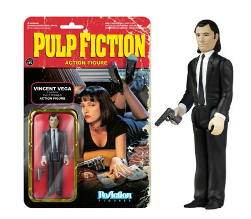 Funko Pulp Fiction ReAction Vincent Vega Action Figure