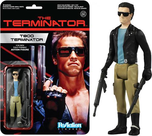 Funko The Terminator ReAction T800 Terminator Action Figure