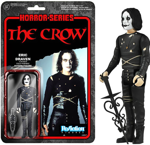 Funko ReAction The Crow Action Figure