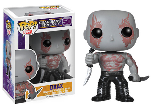 Guardians of the Galaxy Funko POP! Marvel Drax Vinyl Bobble Head #50