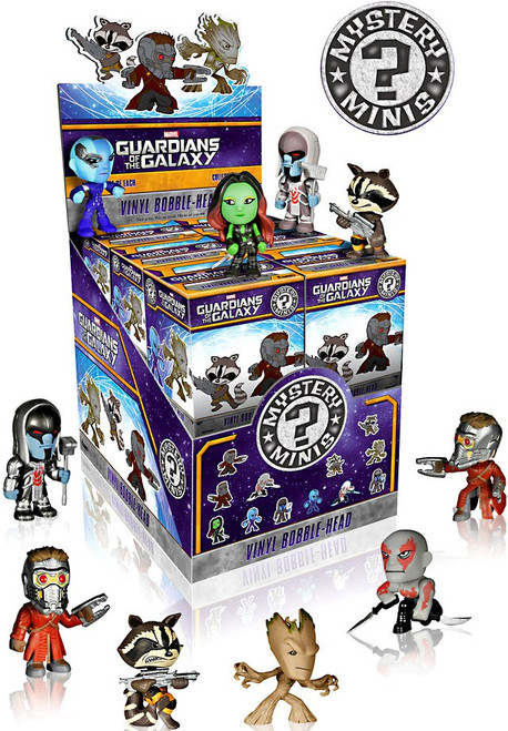 Funko Marvel Guardians of the Galaxy Mystery Minis 2.5-Inch Mystery Box [12 Packs]