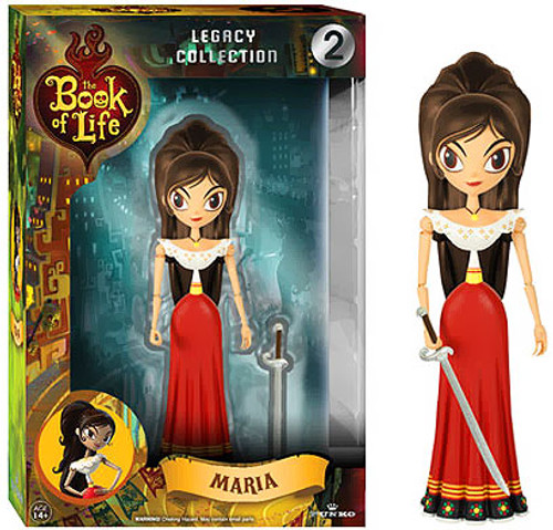 Funko The Book of Life Legacy Collection Maria Action Figure #2