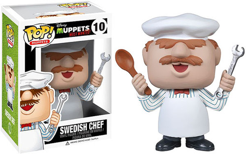 The Muppets Muppets Most Wanted Funko POP! Television Swedish Chef Vinyl Figure #10